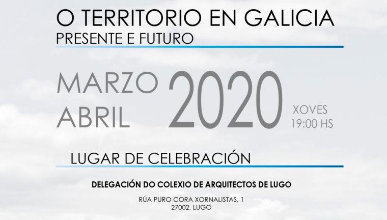 Xornadas O territorio en Galicia. Presente e futuro