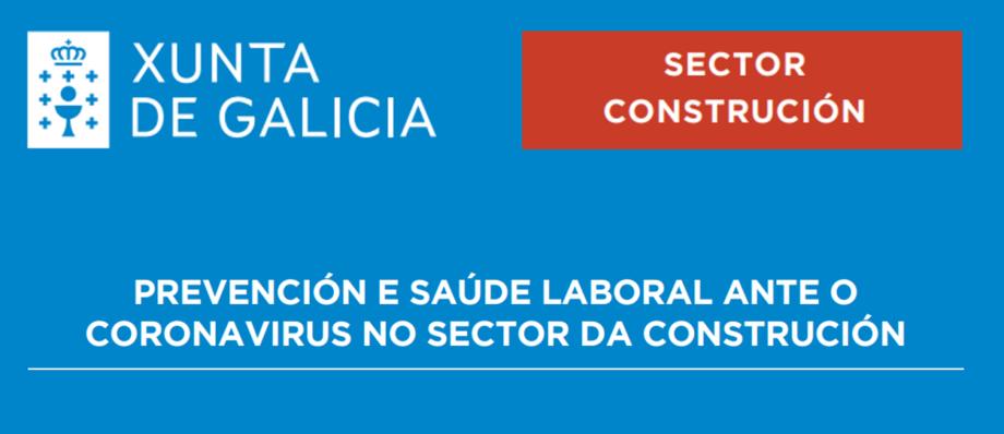 Prevención e saúde laboral ante o Coronavirus no Sector da Construción