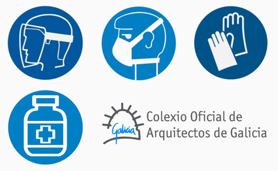 Kit de protección gratuito para os colexiados e prezo especial en xel hidroalcohólico