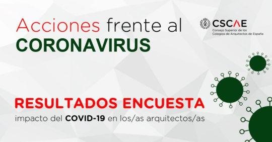 Resultados Enquisa aos arquitectos sobre os efectos do COVID-19