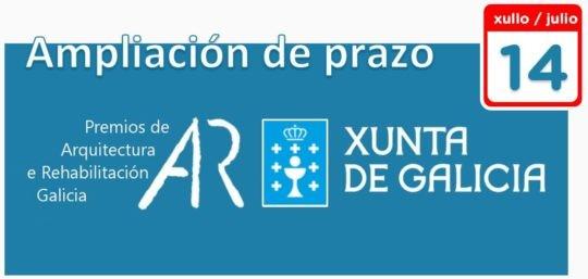 Últimos días para a presentación de candidaturas aos Premios de Arquitectura e Rehabilitación de Galicia 2020