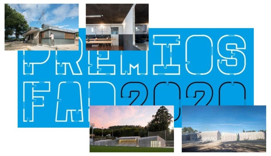 Dous proxectos de arquitectos galegos finalistas nos Premios FAD 2020