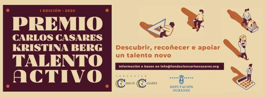 Premio Carlos Casares-Kristina Berg ao Talento Activo