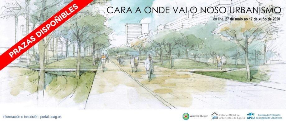 Prazas dispoñibles para as Xornadas «Cara a onde vai o noso urbanismo»