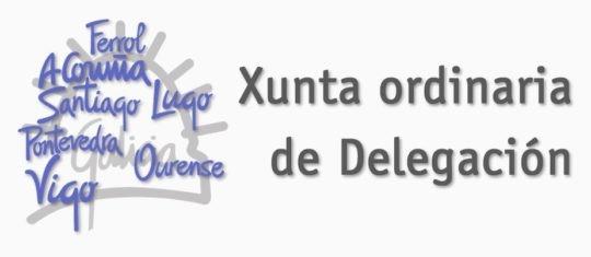 Convocadas Xuntas ordinarias de Delegación