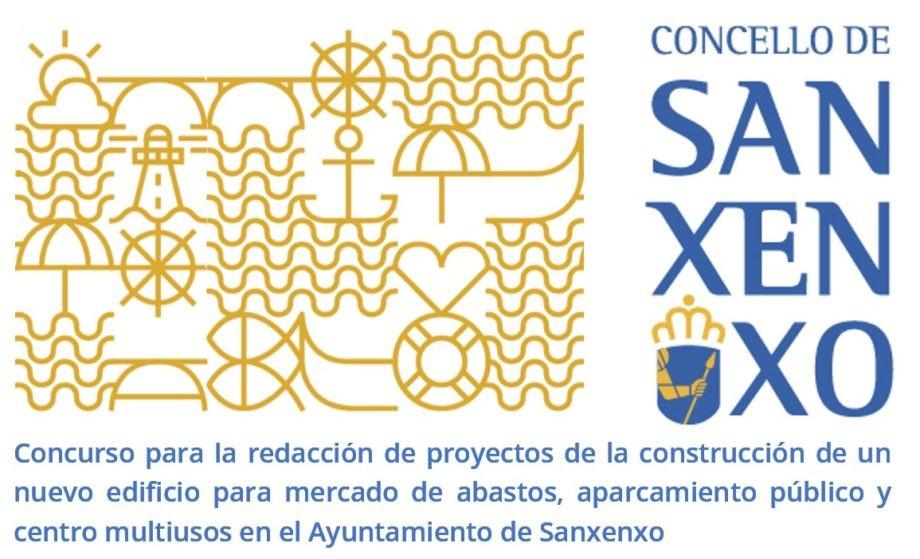 Concurso, mediante jurado, para la redacción de proyectos, a nivel de anteproyecto, de la construcción de un nuevo edificio para mercado de abastos, aparcamiento público y centro multiusos en el Ayuntamiento de Sanxenxo