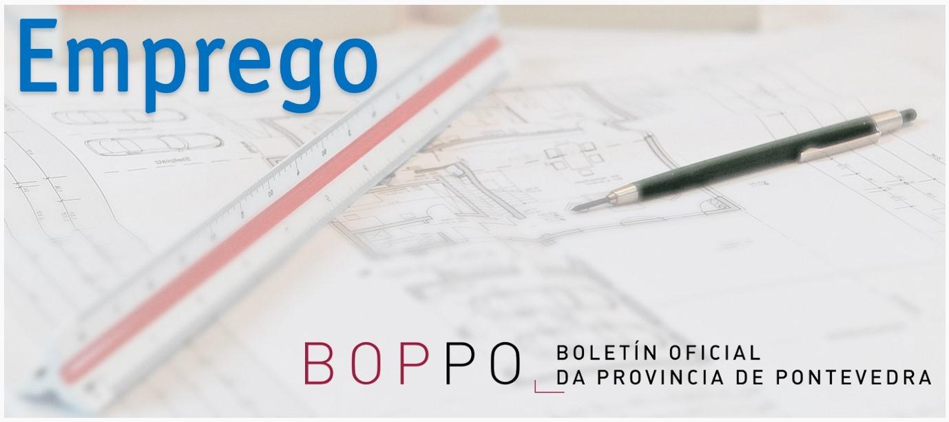 Ofertas de emprego público no BOP Pontevedra