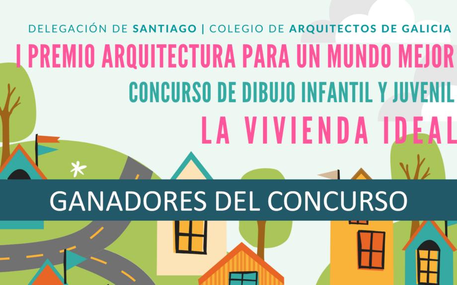 Ganadores del Concurso Dibujo Infantil y Juvenil «La vivienda ideal»