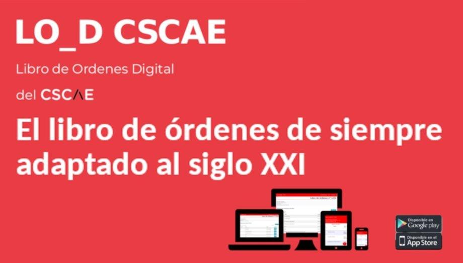 Comienza a funcionar el Libro de Órdenes Digital (LO_D) del CSCAE para facilitar el trabajo de los arquitectos y arquitectas