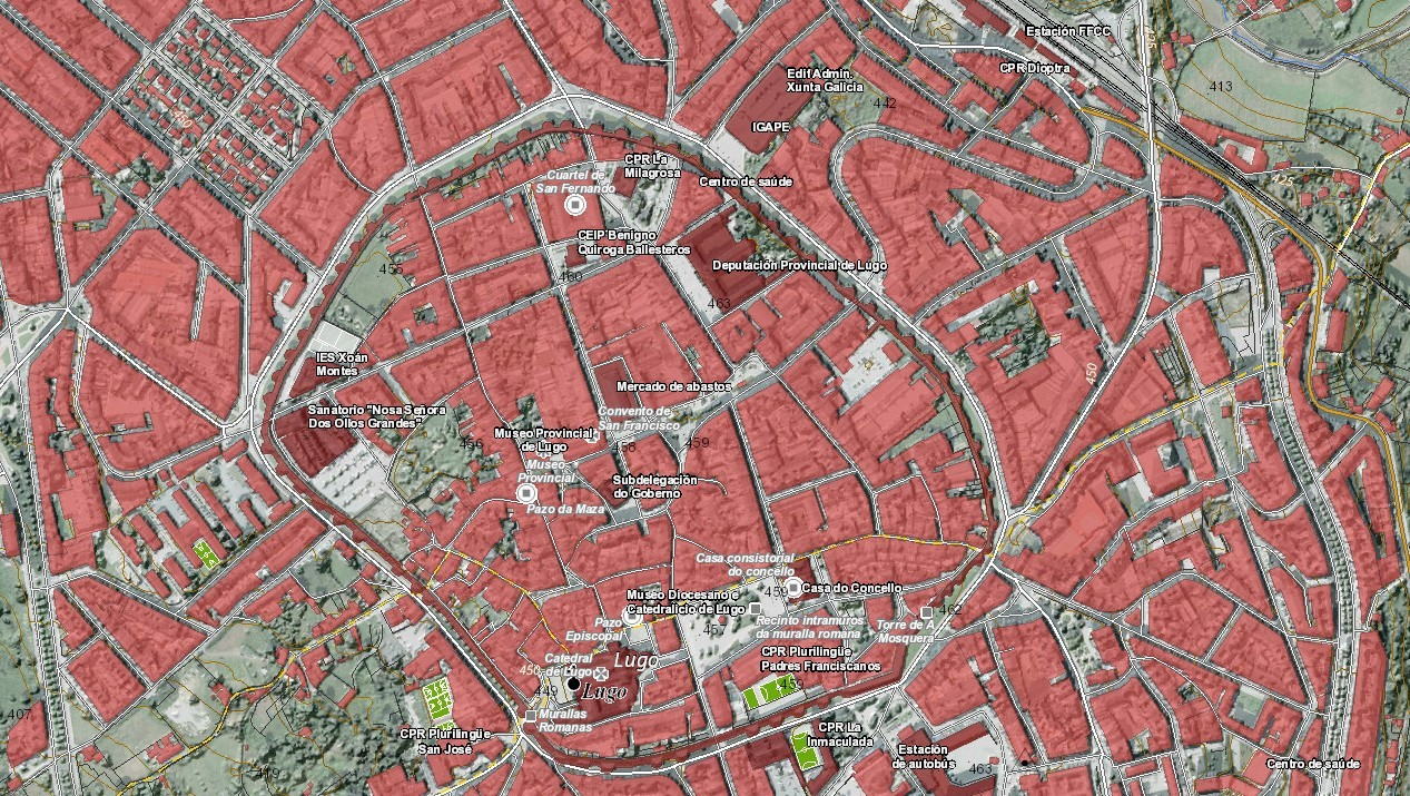 Planeamento urbanístico – primeira quincena xullo 2020
