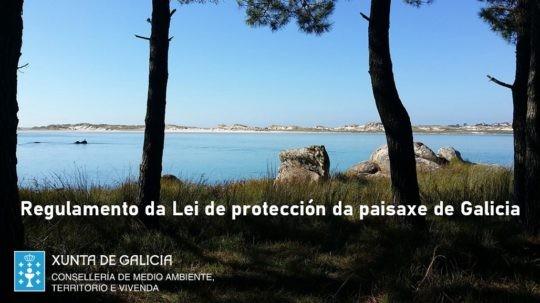 Aprobación do Regulamento da Lei de protección da paisaxe de Galicia