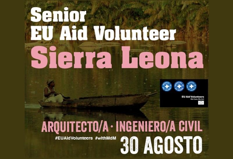 Arquitecto/a Sierra Leona- Programa EUAVolunteers- Médicos del Mundo- Voluntariado Internacional