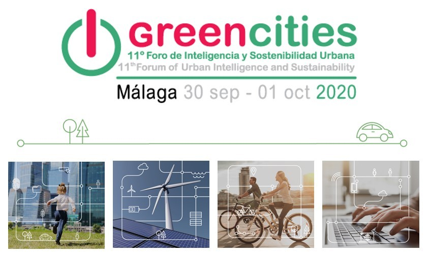 GREENCITIES 2020: XI Foro de Inteligencia y Sostenibilidad Urbana – Málaga