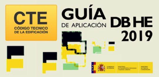 Publicación de la Guía de aplicación del DB-HE 2019