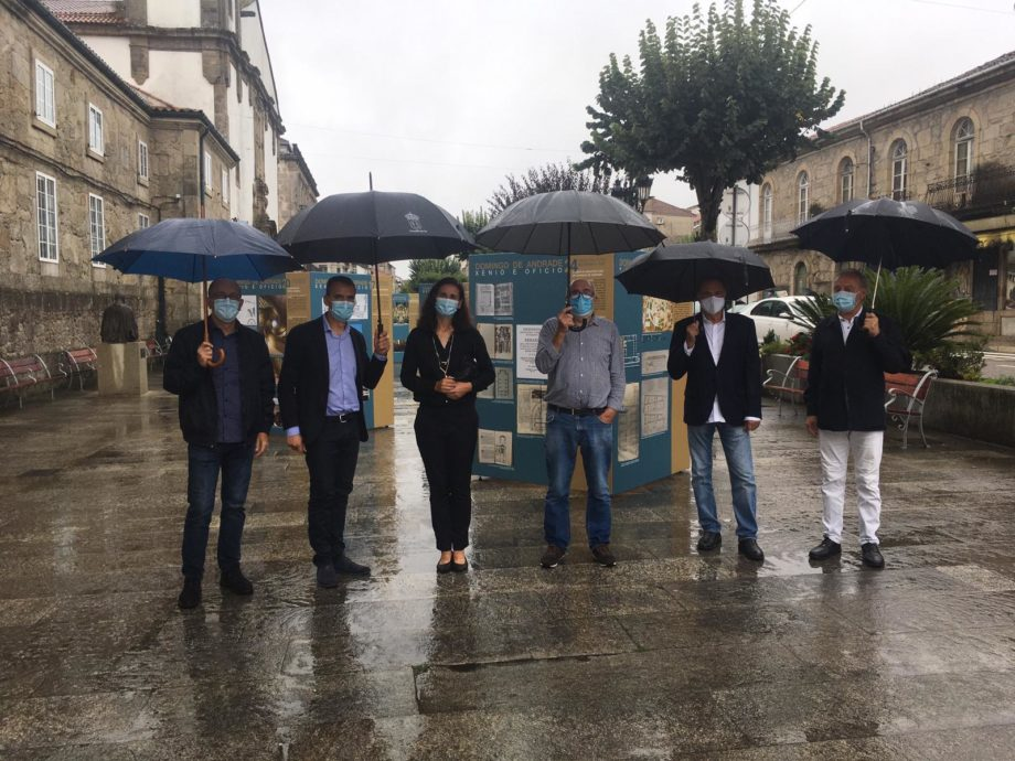 """Inauguración da exposición """"Domingo de Andrade: xenio e oficio"""" en Tui"""