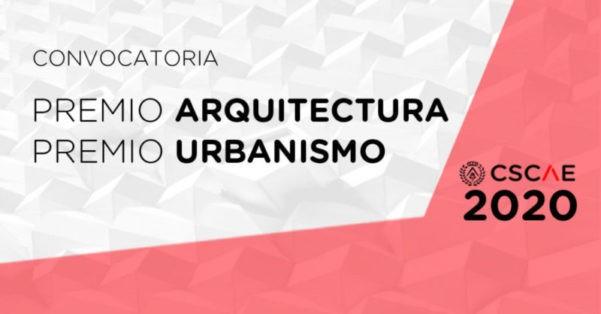 CSCAE: últimos días de presentación para el Premio de arquitectura y premio de urbanismo 2020