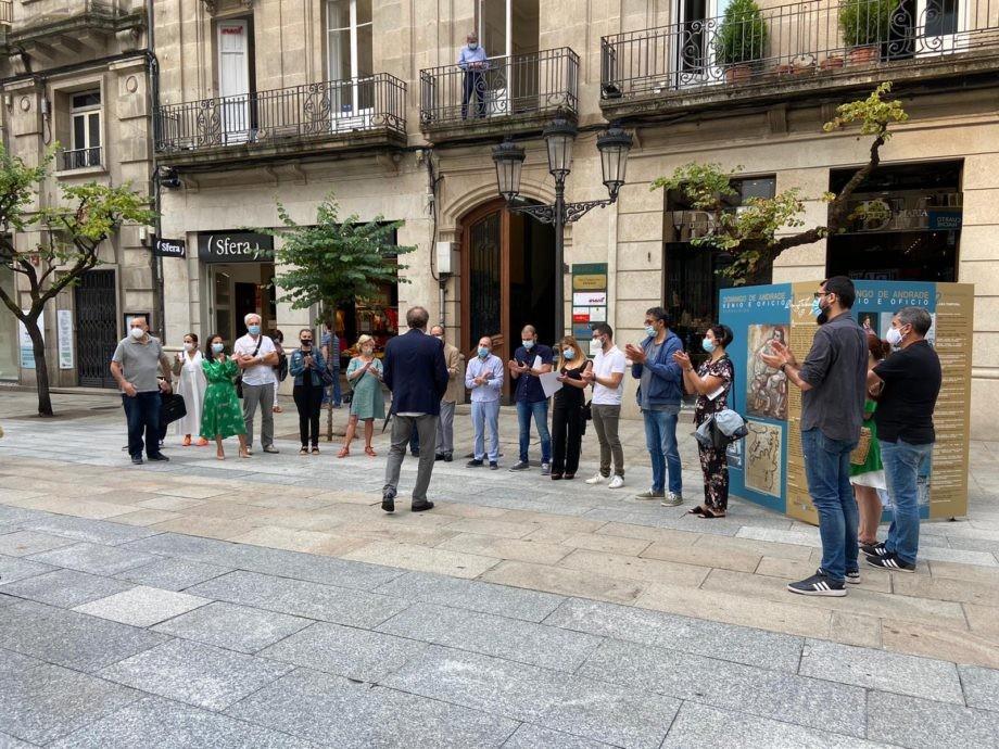 """Inauguración da exposición """"Domingo de Andrade: xenio e oficio"""" en Ourense"""
