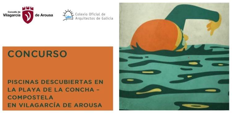 Ampliación de prazo de entrega no Concurso Piscinas descubertas na Praia da Concha – Compostela en Vilagarcía de Arousa