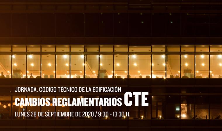 Jornada online Cambios Reglamentarios en el CTE