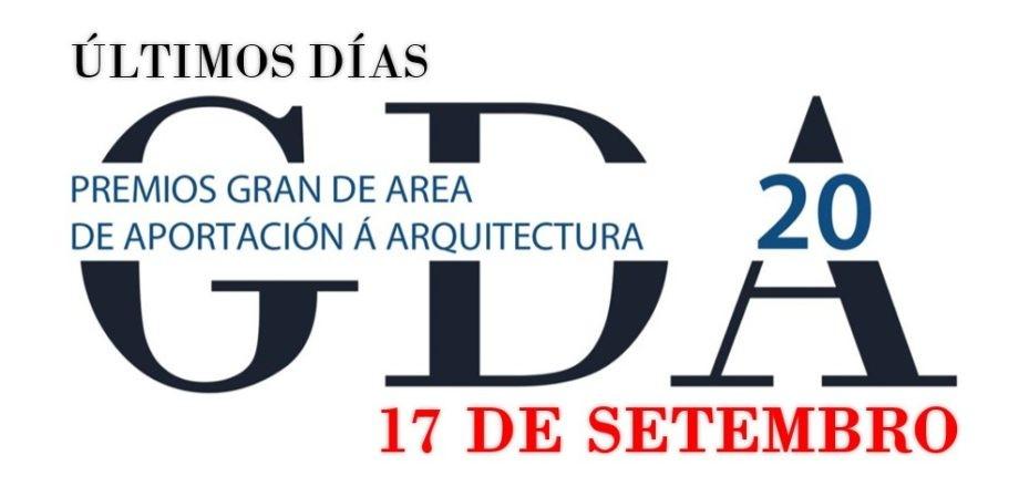 Recordatorio de finalización do prazo de presentación de candidaturas aos Premios «Gran de Area 2020»