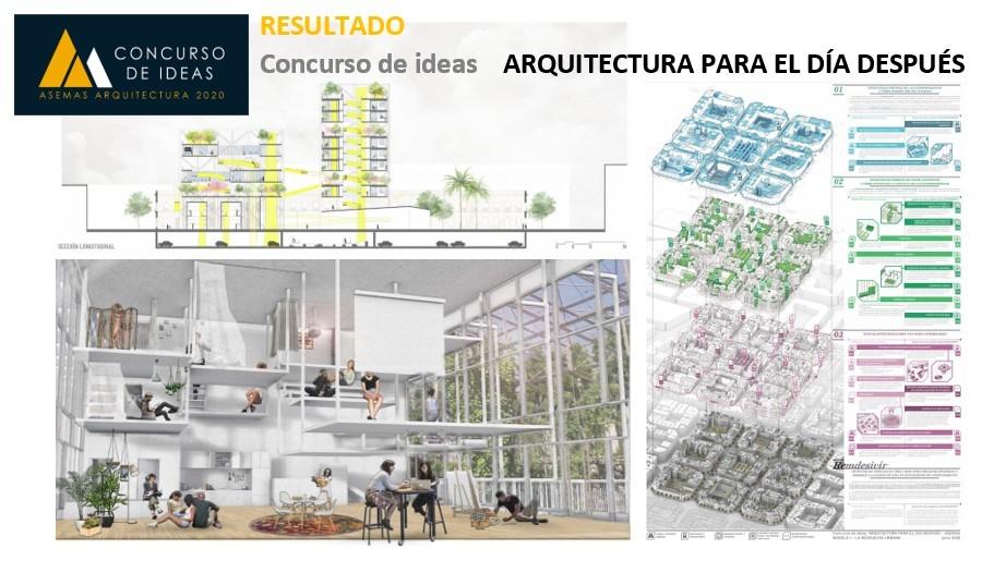 Resultado del Concurso de ideas «Arquitectura para el día después»