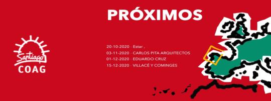 I Edición del ciclo de charlas de arquitectura: Próximos