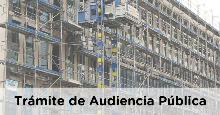 Proyecto de Real Decreto por el que se modifica el Código Técnico de la Edificación