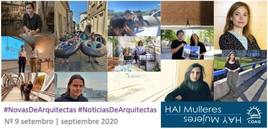Dispoñible o número 9 do boletín de #NovasDeArquitectas