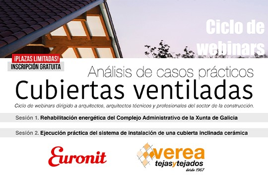 TEJAS VEREA | EURONIT. Ciclo webinars: Análisis de casos prácticos en cubiertas ventiladas