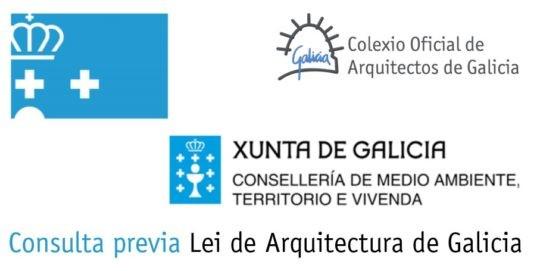 Consulta previa sobre a Lei de Arquitectura de Galicia