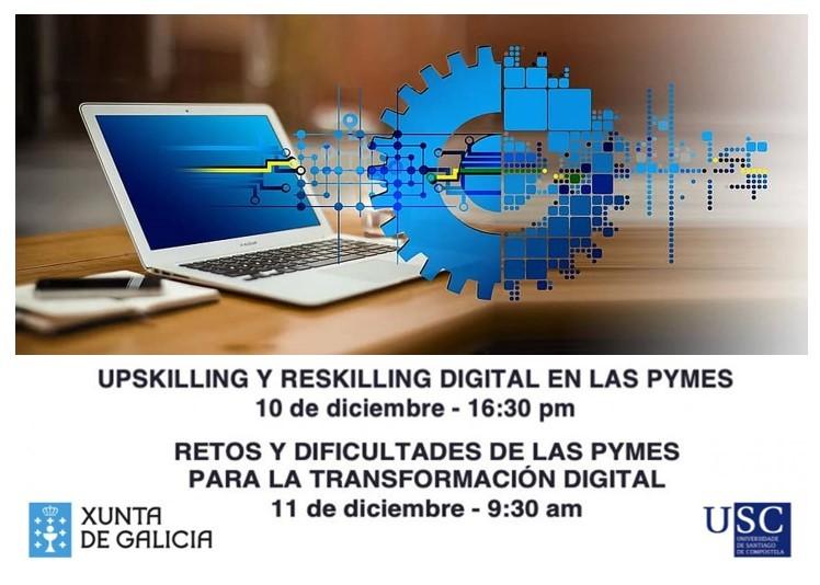 Webinares «Transformación dixital nas PEMES» – 10 e 11 de decembro