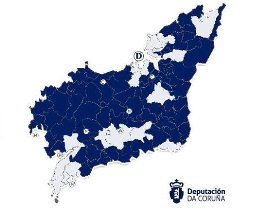 Novos concellos incorporados á interoperatibilidade co COAG
