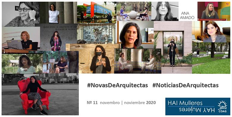 Dispoñible o número 11 do boletín de #NovasDeArquitectas