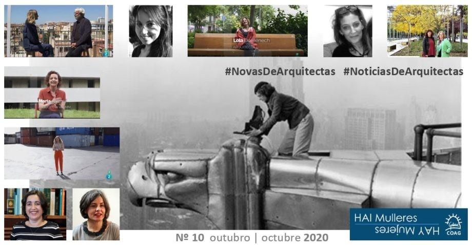 Dispoñible o número 10 do boletín de #NovasDeArquitectas