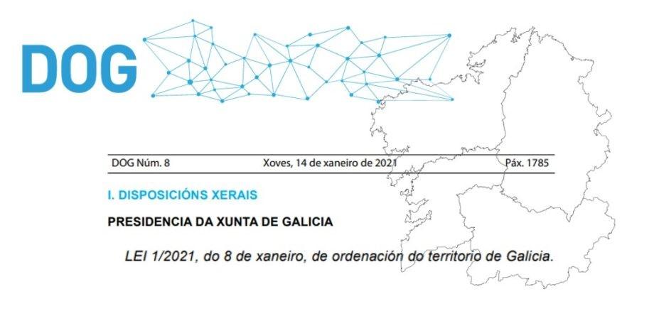 Aprobación da Lei de Ordenación do Territorio de Galicia