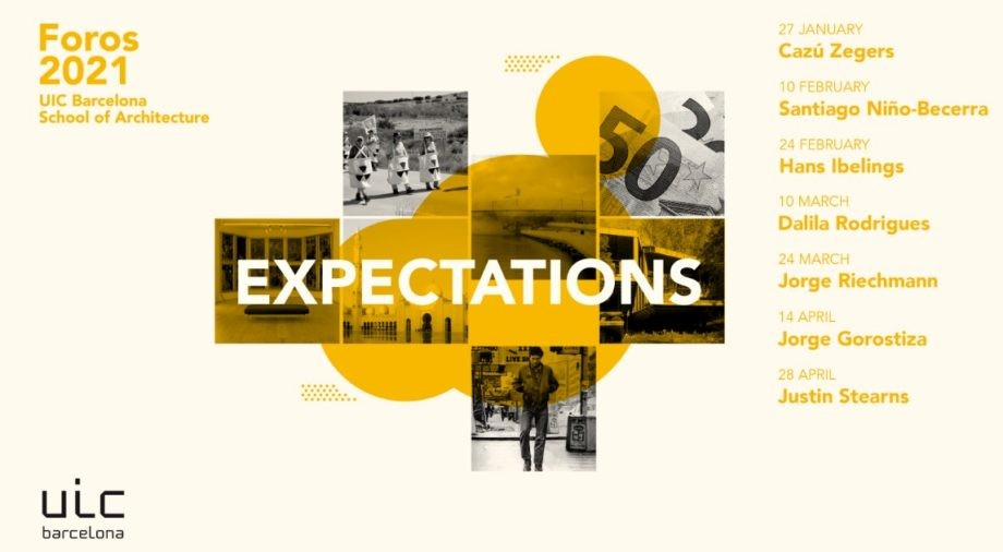 "Ciclo de conferencias ""Expectations"", Foros 2021"