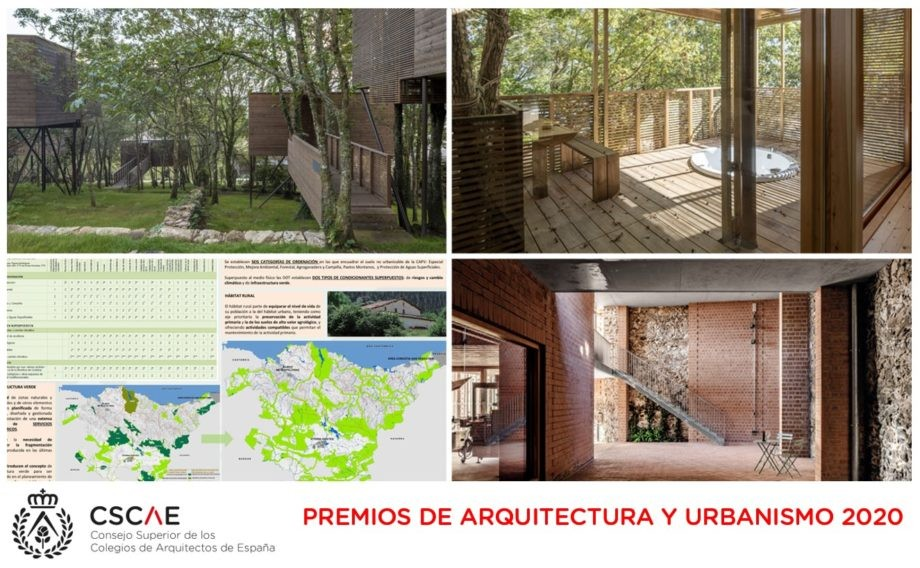 Emitido el fallo de los Premios de Arquitectrua y Urbanismo 2020 del Consejo Superior de los Colegios de Arquitectos de España