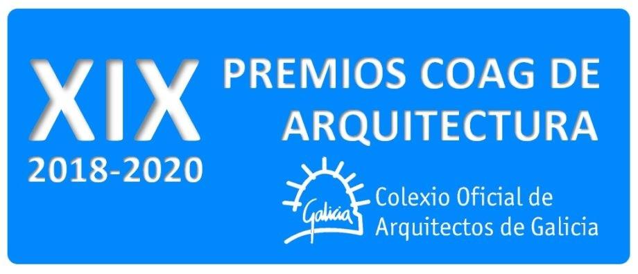 Convocatoria dos XIX PREMIOS COAG DE ARQUITECTURA