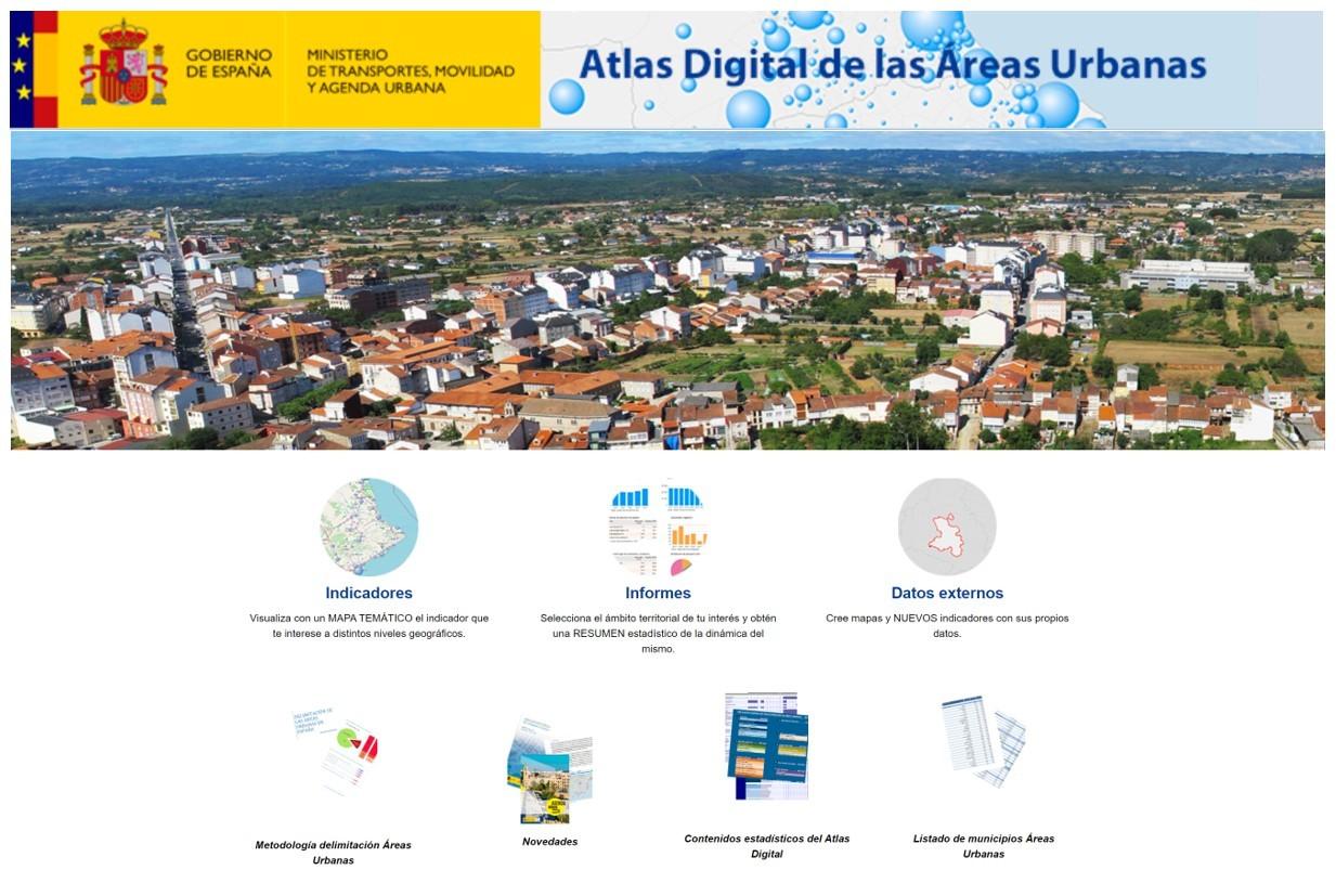 Actualización De La Aplicación Web Del Atlas Digital De Las áreas Urbanas En España Coag
