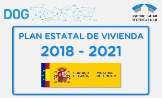 Convocadas para o ano 2021 as subvencións para a adquisición de vivenda do Plan estatal de vivenda 2018-2021