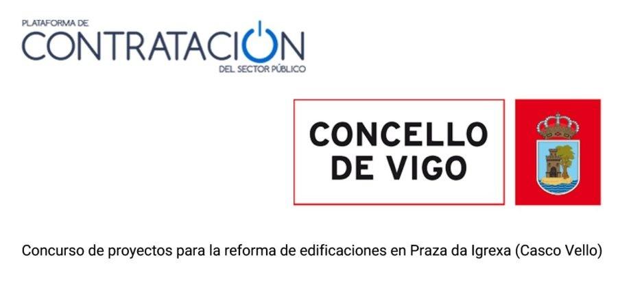 Concurso de proxectos para a reforma de edificacións en Praza da Igrexa (Casco Vello) en Vigo