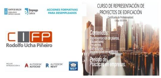 Curso de representación de proxectos de edificación