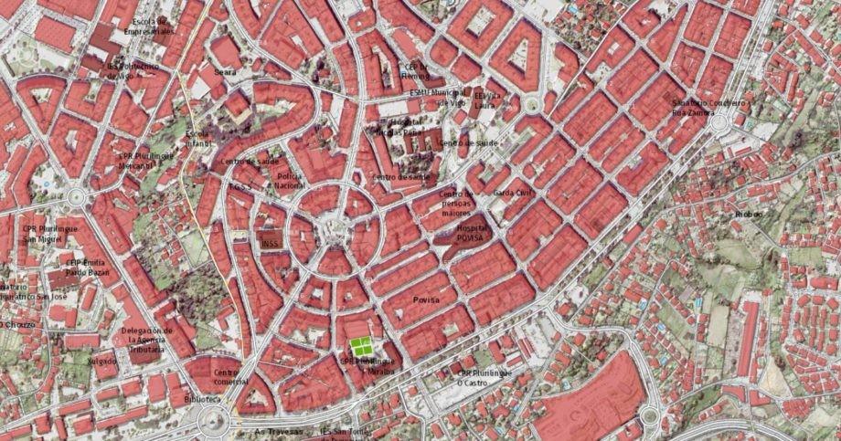 Planeamento urbanístico – xaneiro de 2021