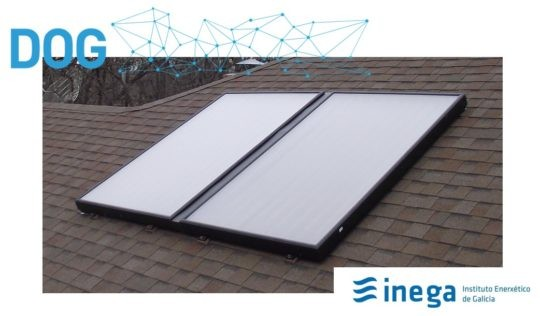 Convocadas subvencións para o ano 2021 para proxectos de enerxía solar fotovoltaica destinadas a particulares