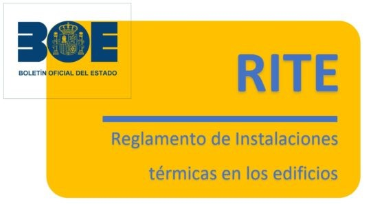 Modificación del RD 1027/2007, de 20 de julio, por el que se aprueba el Reglamento de Instalaciones Térmicas en los Edificios