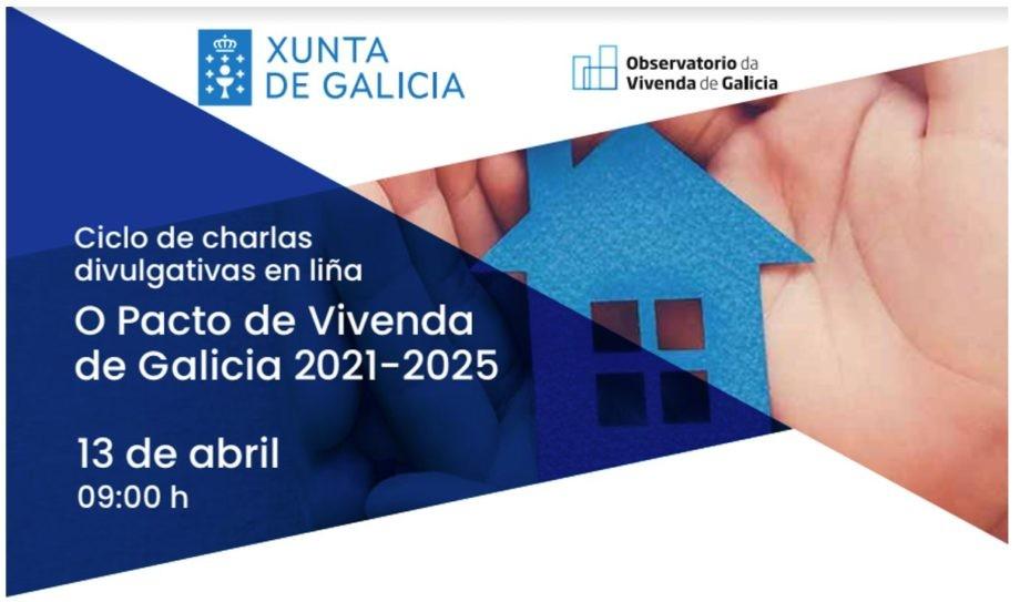 Charla en liña do Pacto de Vivenda de Galicia 2021-2025