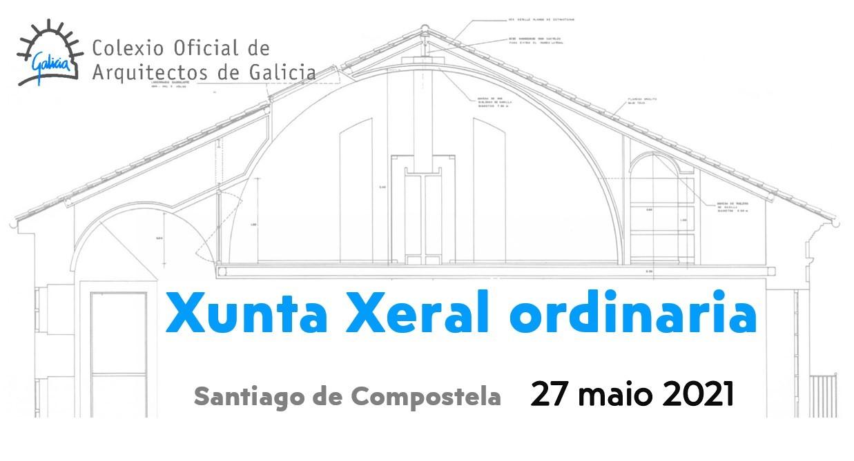 Xunta Xeral ordinaria 27 de maio de 2021: acordos e difusión datos participantes.