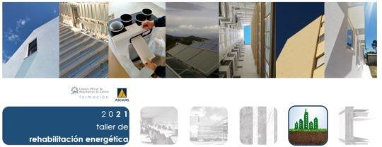 Curso-taller on line de rehabilitación enerxética de edificacións