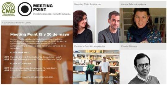 X Encuentros online de innovación en madera_MEETING POINT LIGNUM