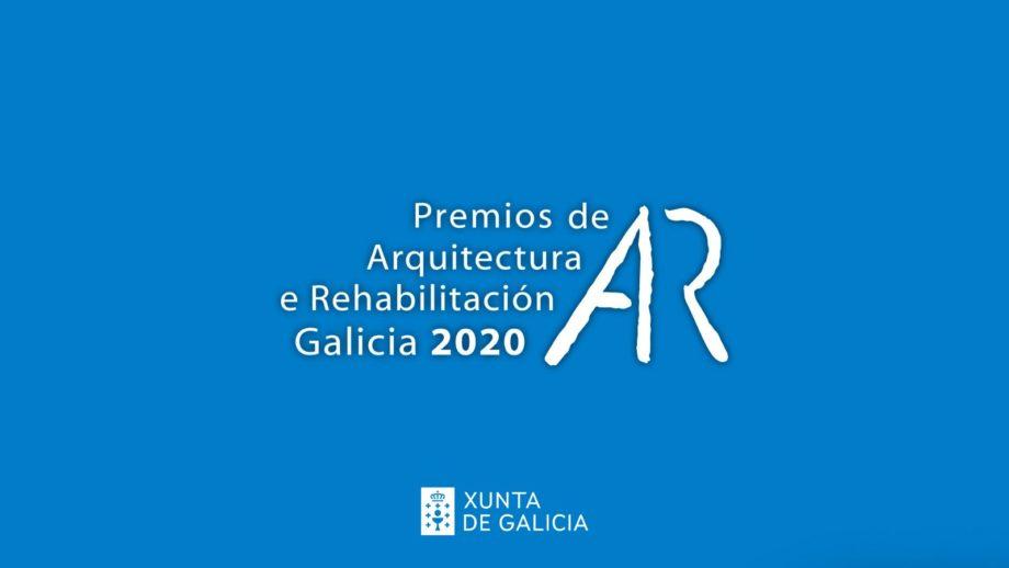 Acto de entrega dos «Premios de Arquitectura e Rehabilitación Galicia 2020»